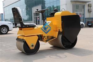中国城市化发展速度加快,小型压路机的使用频率会更高