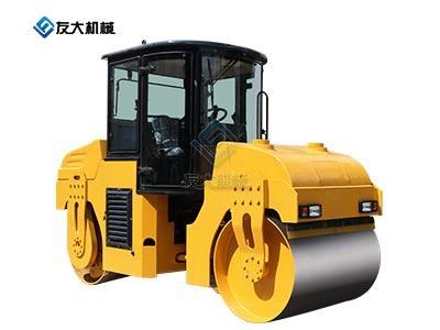 6t双钢轮座驾压路机黄色(新款)
